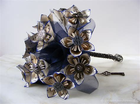 Origami Bouquet Tutorial - origami steunk wedding bouquet tutorial elizabeth s