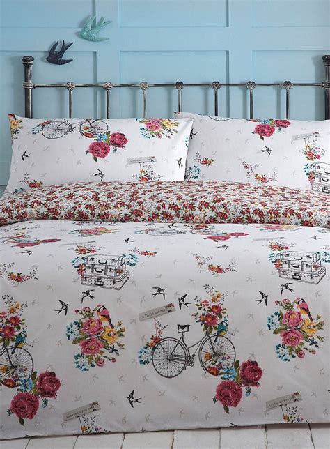 bhs bed linen sets bird on a bike bedding set bhs bedding