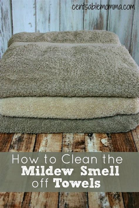 how to clean the mildew smell off towels centsable momma