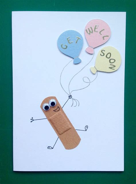 Get Well Soon Pop Up Card Template by Child S Get Well Soon Card Handmade Cards Card Pinte