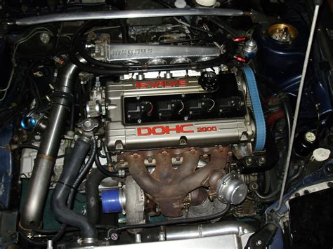 mitsubishi eclipse 1991 turbo eclipse turbo engine images