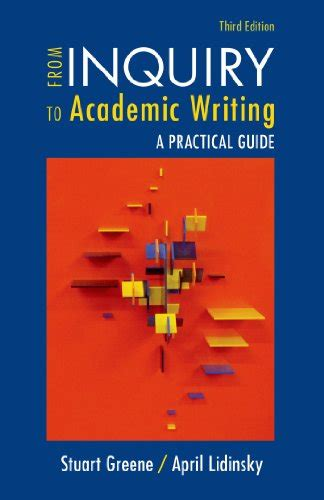 from inquiry to academic writing a text and reader books biography of author stuart greene booking appearances