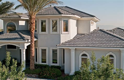 Energy Saving House by Flat Concrete Roof Tiles