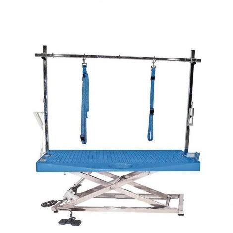 tavolo toelettatura tavoli per toelettatura elettrici in acciaio inox con ponte