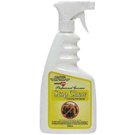 spray to stop from chewing stop chew spray 500ml for au 21 66 from vet products direct usa