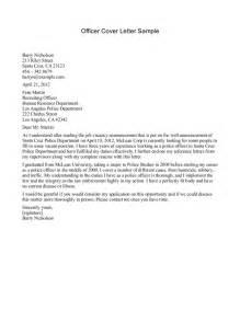 resume cover letter police officer police officer cover letters