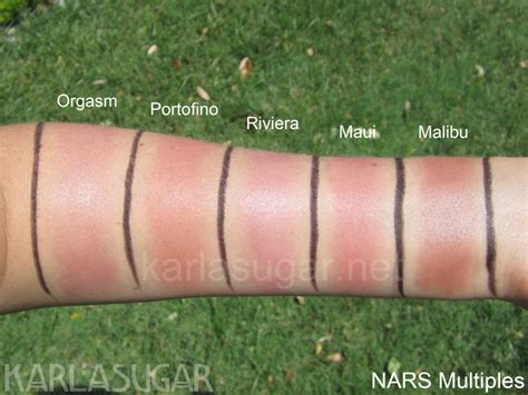 best orgams nars multiples part 2 swatches photos reviews
