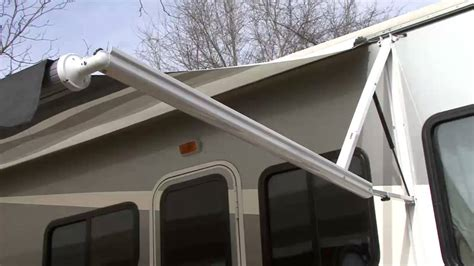 a e power awning dometic 9100 awning youtube