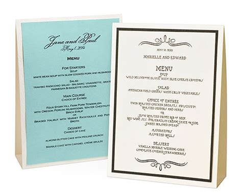 Table Menu by Dustine S Wedding Table Decor A Day To Remember Here