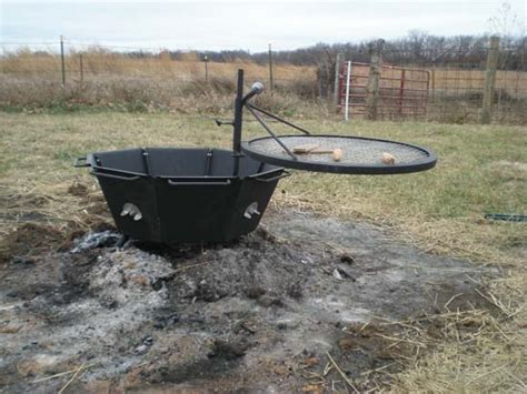 grill firepit backyard pit grill outdoor furniture design and ideas