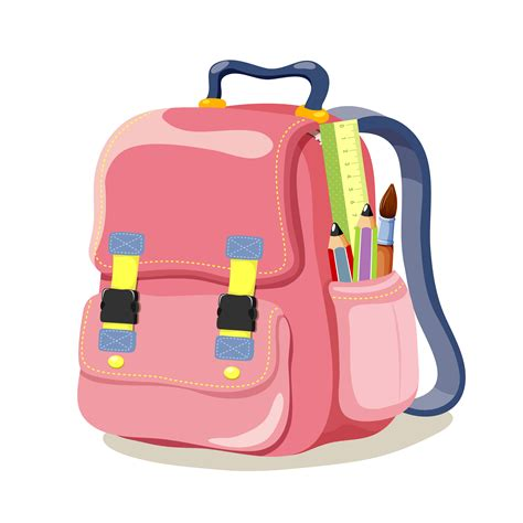 colored school bag vector 04 vector other free download