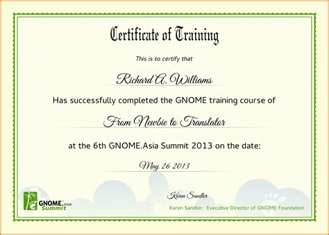 templates for workshop certificates certificate of training templatereference letters words
