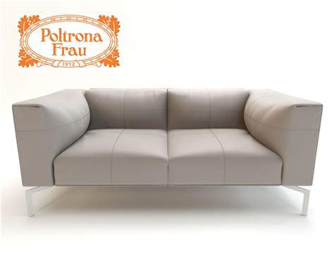 poltrona frau leather leather sofa poltrona frau 3d model max fbx cgtrader