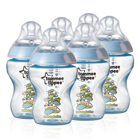 Tommee Tippee Closer To Nature Bottle 260 Mlbotol Bayi tommee tippee closer to nature 260 ml 9fl oz decorated feeding bottles blue ebay