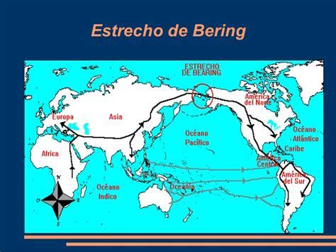 mapa del estrecho de bering desierto del gobi 10 estrecho de bering