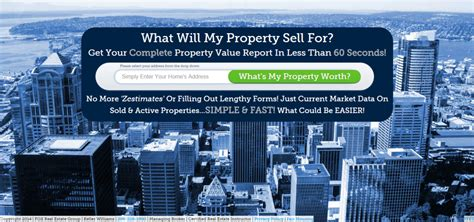 your website needs a real estate landing page for leads