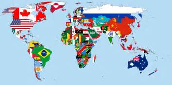 World Map Flags by World Map With Flags Related Keywords Amp Suggestions