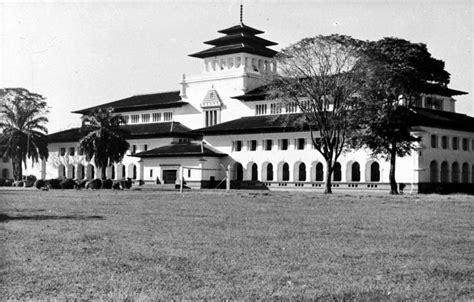 Spakbor Depan Jadul Lu foto foto dan sejarah gedung sate tempo dulu kumeok memeh dipacok