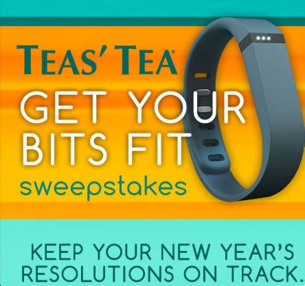 Walgreens Sweepstakes Winners 2014 - tea s tea get your bits fit sweepstakes win a fitbit flex fitness tracker