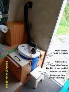 Rv Bathroom Storage by Rv Diy Composting Toilet