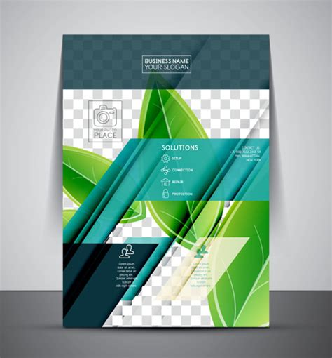 company flyer template modern vector free vector in adobe