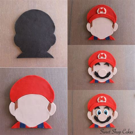 How To Make A Mario Hat Out Of Paper - les 25 meilleures id 233 es de la cat 233 gorie gateau mario sur