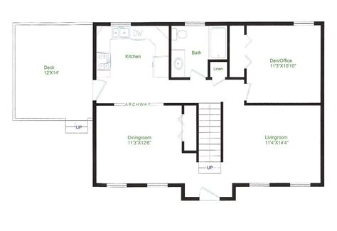vacation floor plans pole barn house plans with loft fresh barn home floor