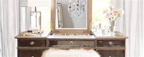 Vanity Blowout Bar by The Alessandra Ultimate Vanity Glamorous Dressing Table