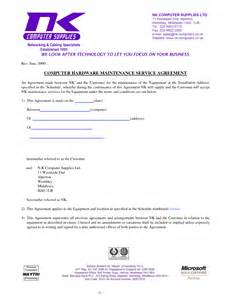 it support service contract template software support agreement template free printable documents