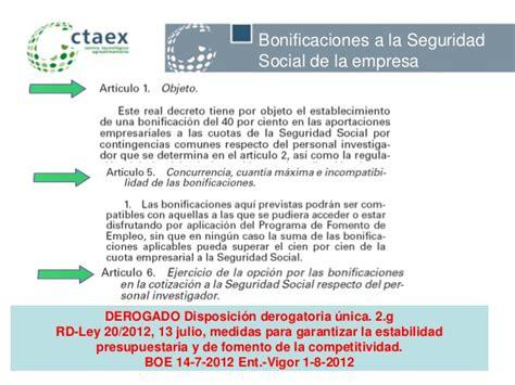 bonificaciones en contratos seguridad social 2016 bonificaciones a la seguridad social y deducciones