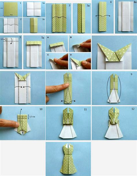 How To Make A Paper Dress - hijabholicanism obviously origami dress