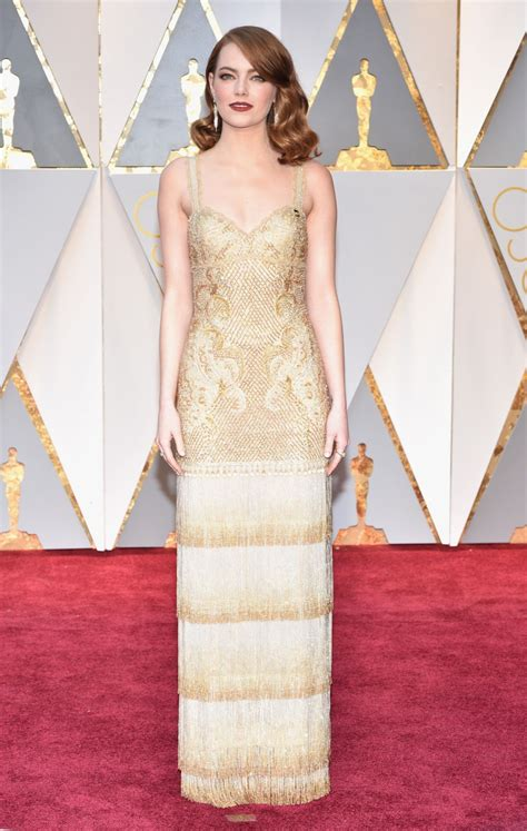 emma stone oscar emma stone at 89th academy awards celebzz