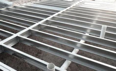 dietrich metal framing span tables flooring steel metal supplies australia steeline