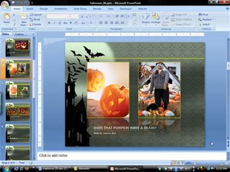 digital scrapbook template for powerpoint presentations