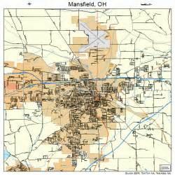 mansfield map mansfield ohio map 3947138