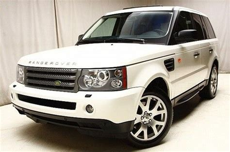 land rover financing new bedford sell used 2008 land rover range rover sport 4wd navigation
