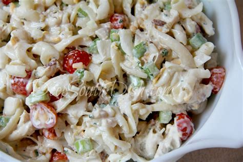 the best creamy chicken pasta salad creamy chicken pasta salad
