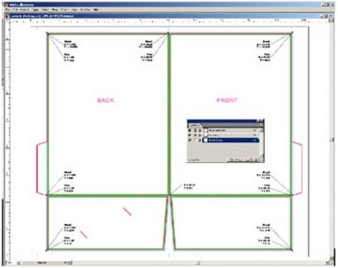 Download Template For Presentation Folder Free Filecloudempire Pocket Folder Template Illustrator