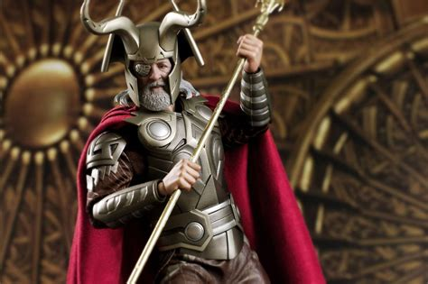 film thor odin onesixthscalepictures hot toys thor movie odin latest