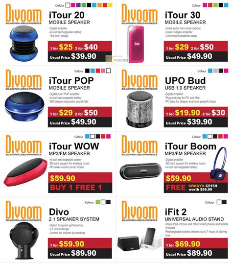 Divoom Itour 30 cresyn divoom itour 20 mobile speaker itour 30 itour pop upo bud usb itour wow itour boom