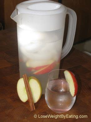 Apple Cinnamon Detox Water With Powdered Cinnamon by The Original Day Spa Apple Cinnamon Infused Water Recipe