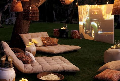 backyard movie night backyard movie night party decorations popsugar home