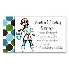 house cleaning business card exles femmes de chambre cartes de visite and nettoyage on