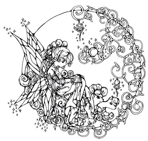 coloring page of fairy fairy coloring pages for girls coloring home