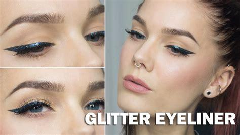 eyeliner tutorial linda hallberg glitter eyeliner with subs linda hallberg makeup