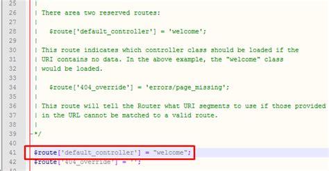 codeigniter tutorial routes tutorial codeigniter dasar untuk pemula cara konfigurasi