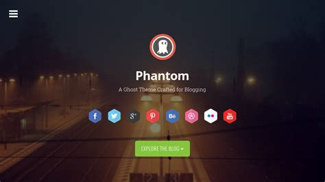 themeforest ghost phantom responsive parallax theme for ghost by codetic