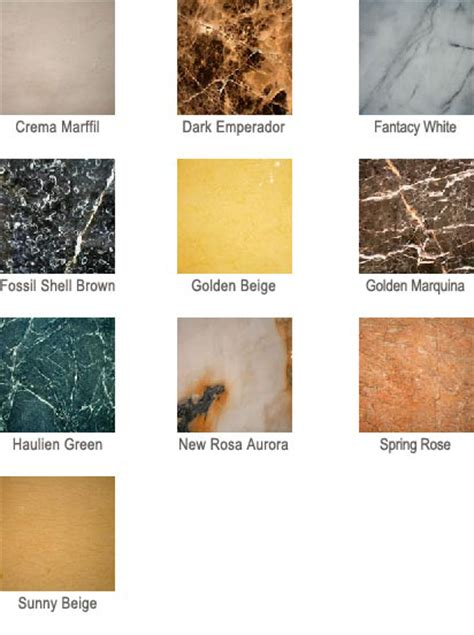 Marble Countertops Colors by Marble Countertop Colors All Az Countertops