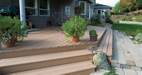 deck to patio transition corvallis decks patios porches sunrooms general