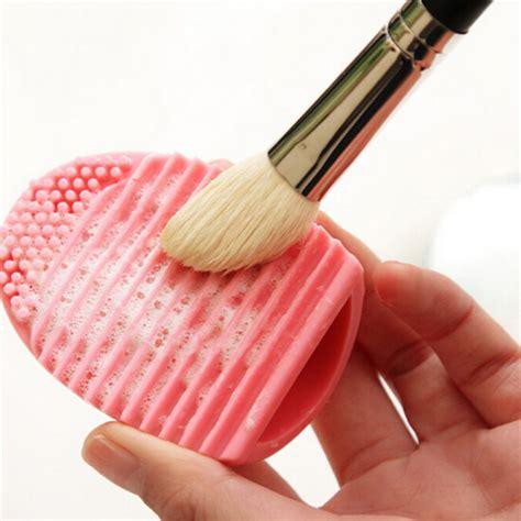 Pembersih Kuas Brush Cleanser Egg Cleanser silicone brushes cleaning egg brush egg cosmetic brush cleanser make up makeup brush cleansing